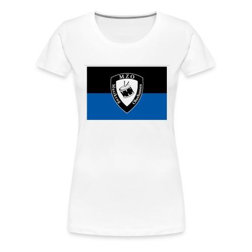 Vereinsfahne - Frauen Premium T-Shirt