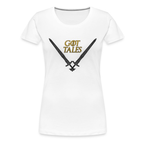 Got Tales png - Women's Premium T-Shirt