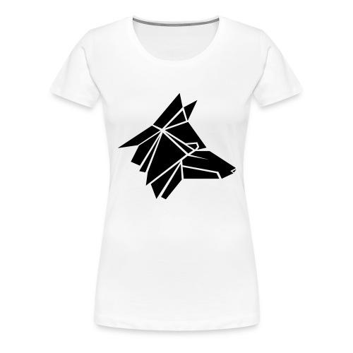 THE FOX LOGO - Frauen Premium T-Shirt