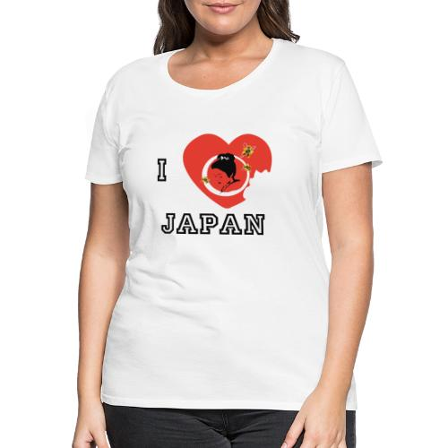 i love japan - T-shirt Premium Femme