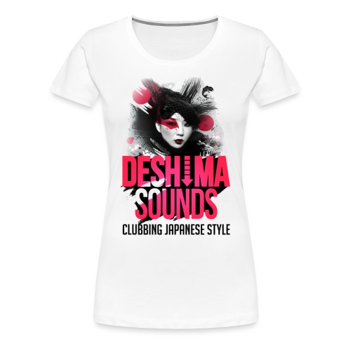 Deshima Sounds 11 2013 - Women's Premium T-Shirt