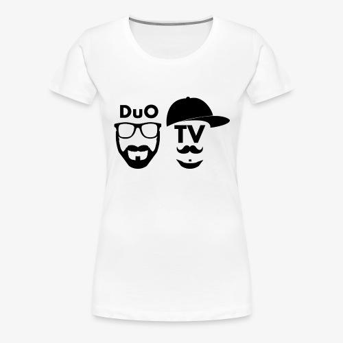 DuO TV Memes (black) - Frauen Premium T-Shirt