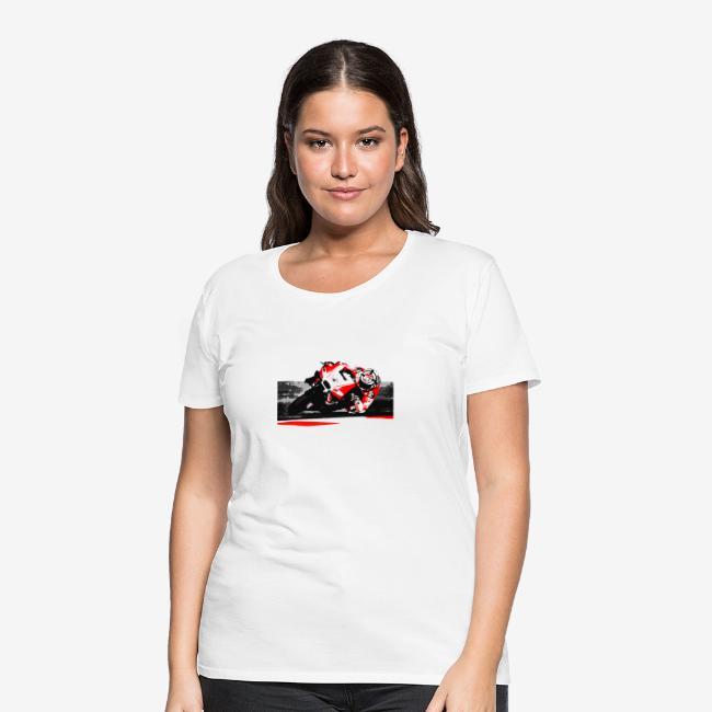 DM t shirt superbike red moto artwork png