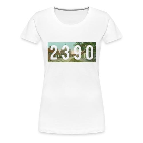 2390 - Vrouwen Premium T-shirt