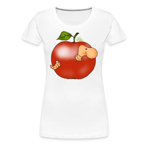 Apfelwurm im Royal Tenroy - Frauen Premium T-Shirt
