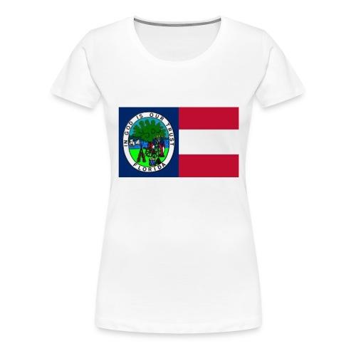 Florida 1861 color jpg - Frauen Premium T-Shirt