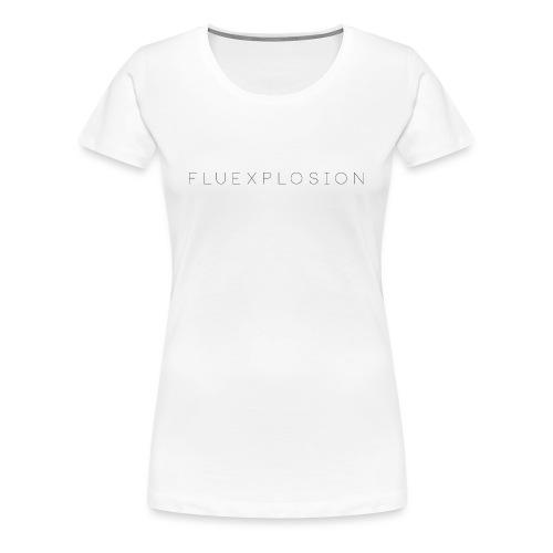 fluexplosion png - Premium T-skjorte for kvinner