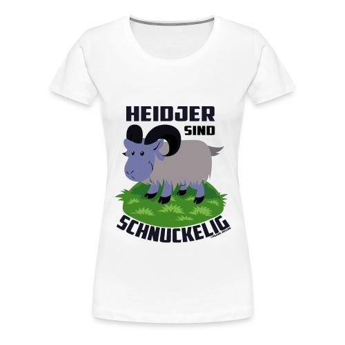 Heidschnucke Fiete - Frauen Premium T-Shirt
