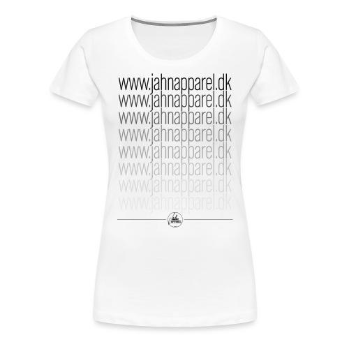 JahnApparel Link Logo - Dame premium T-shirt