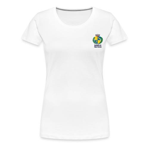 Royaume de Nova Francia - T-shirt Premium Femme