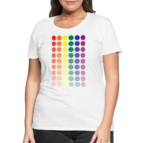 Pride dots - Vrouwen Premium T-shirt