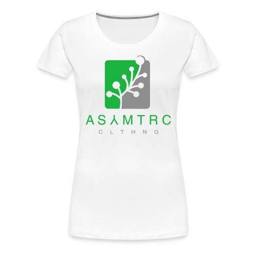 Asymetric Clothing - Imperfection at it's finest - Frauen Premium T-Shirt