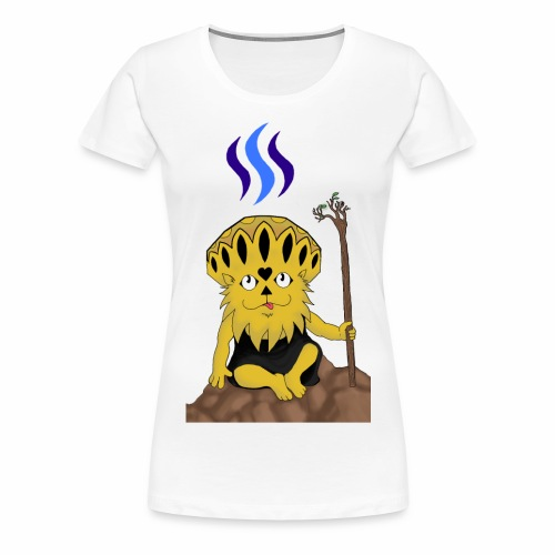 Steemit @bronkong - Frauen Premium T-Shirt
