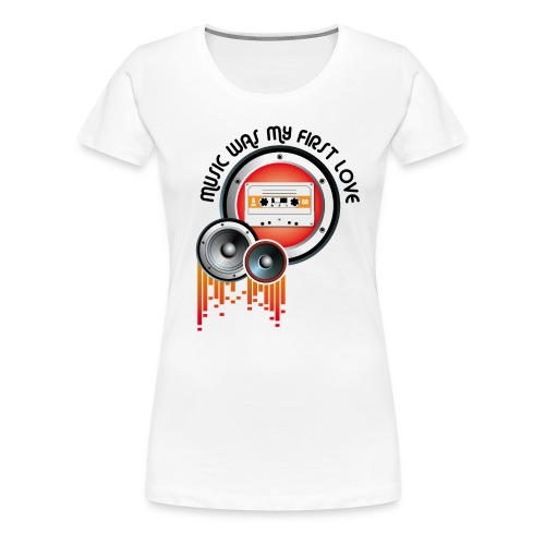 0024 - Vrouwen Premium T-shirt