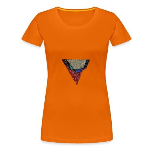Large Graphite logo - Women's Premium T-Shirt