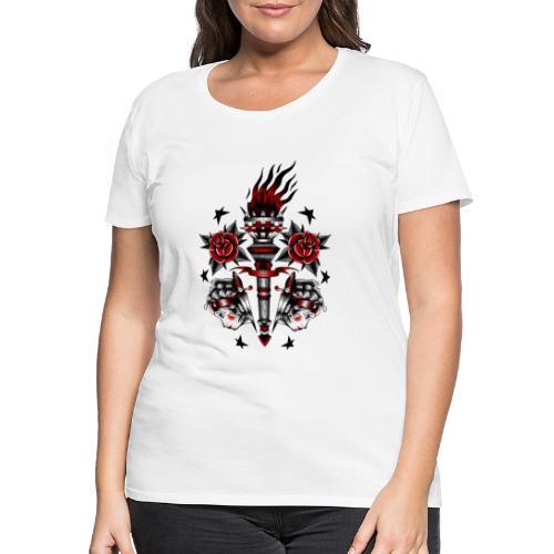 TAMES SB.CLICK/TH CLAN X iorestoacasaArtistiUniti - Maglietta Premium da donna