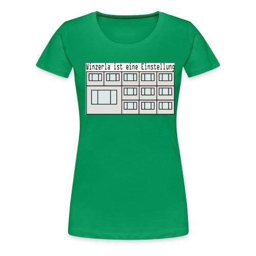 winzerla - Frauen Premium T-Shirt