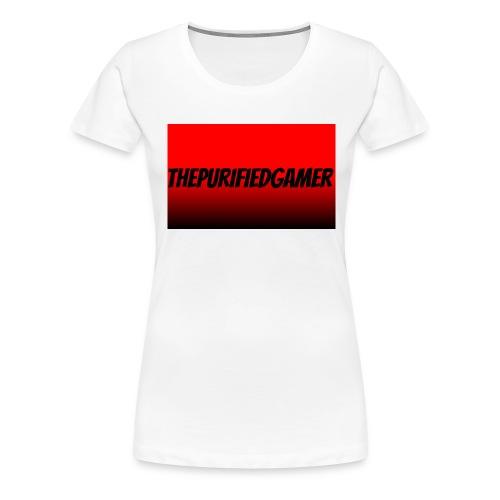 red-wallpaper-5FTF - Women's Premium T-Shirt