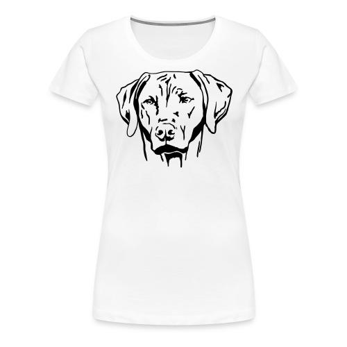 Rhodesian Ridgeback - Frauen Premium T-Shirt