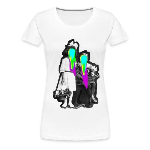 Historie - Frauen Premium T-Shirt