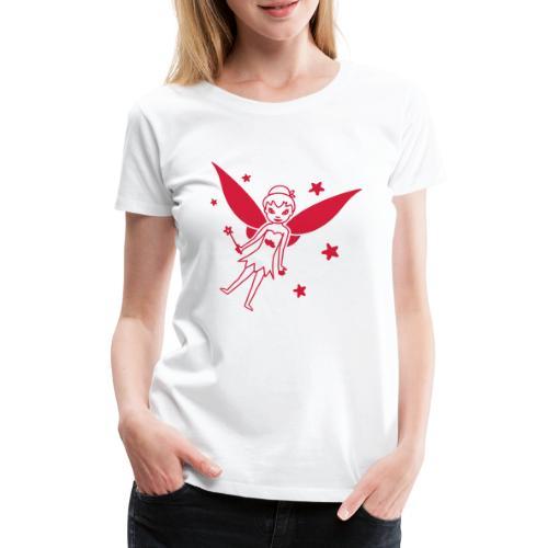 Motif Fée - T-shirt Premium Femme