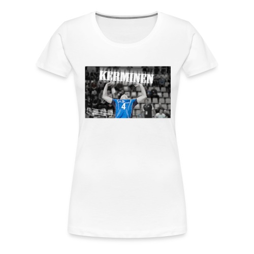 Kerminen t paita JPG - Naisten premium t-paita