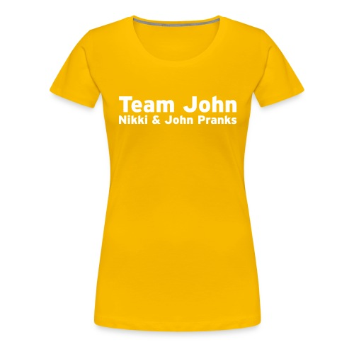 Team John - Mens - Women's Premium T-Shirt