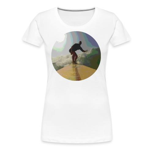 Isle_of_Surfing - Women's Premium T-Shirt