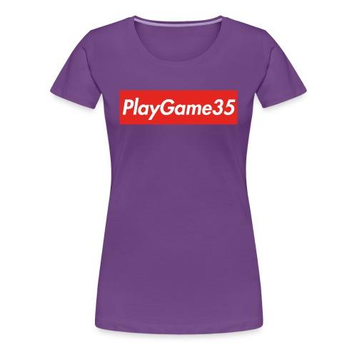 PlayGame35 - Maglietta Premium da donna