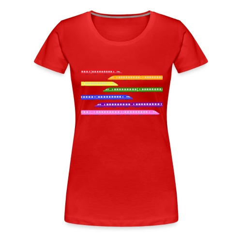 trains t shirt 2 - Women's Premium T-Shirt