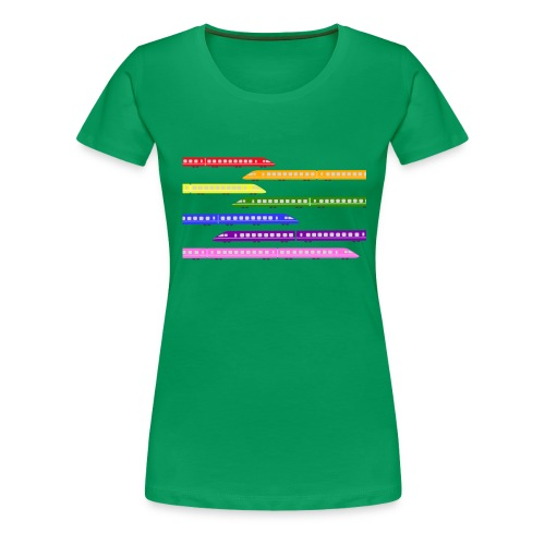 trains t shirt 2 - Women's Premium T-Shirt