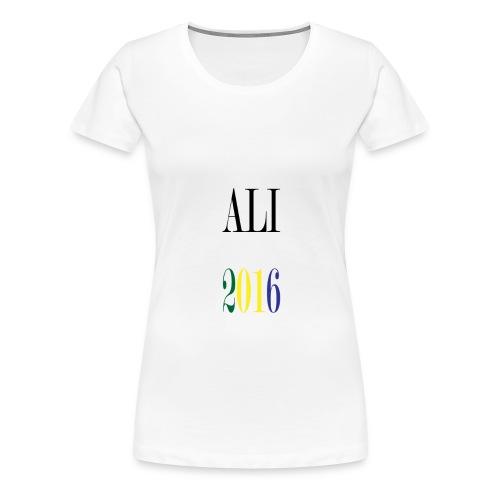 ALI 2016z gif - T-shirt Premium Femme