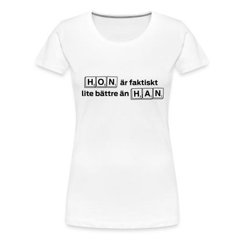 hon han - Premium-T-shirt dam