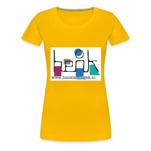 henkisnietgek-logo - Vrouwen Premium T-shirt