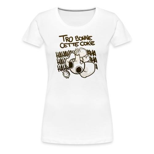png - T-shirt Premium Femme