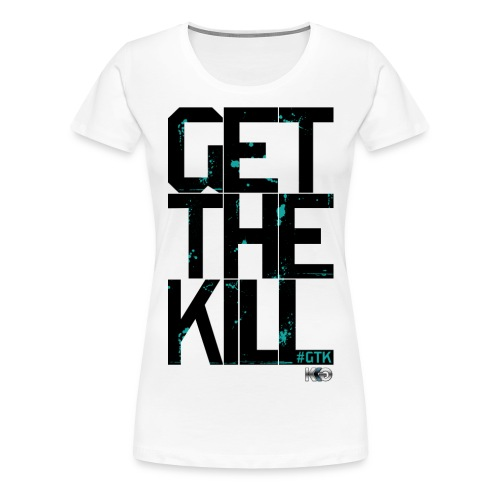 #GTK - Black - Women's Premium T-Shirt