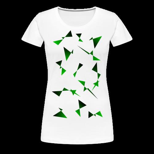 T4Y Triangle Green - Frauen Premium T-Shirt