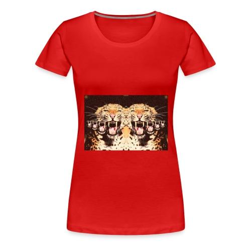 tijgermond jpg - Vrouwen Premium T-shirt