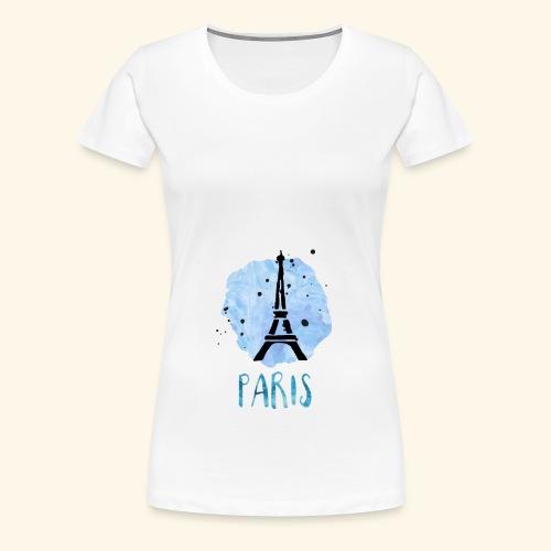 Paris - Vrouwen Premium T-shirt