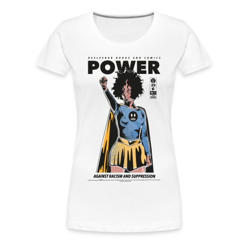 POWER - Frauen Premium T-Shirt