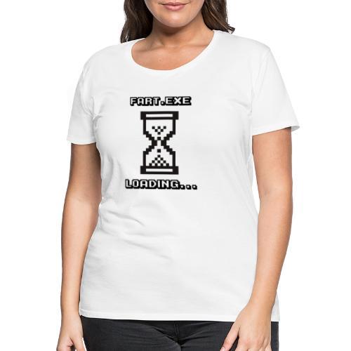 Fart Loading - Women's Premium T-Shirt