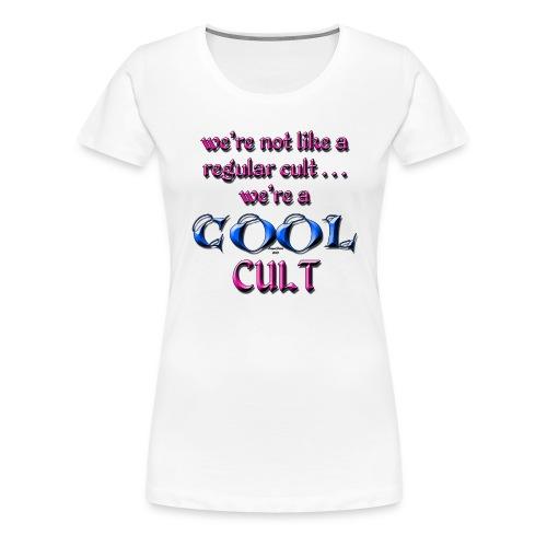 cool cult png - Women's Premium T-Shirt