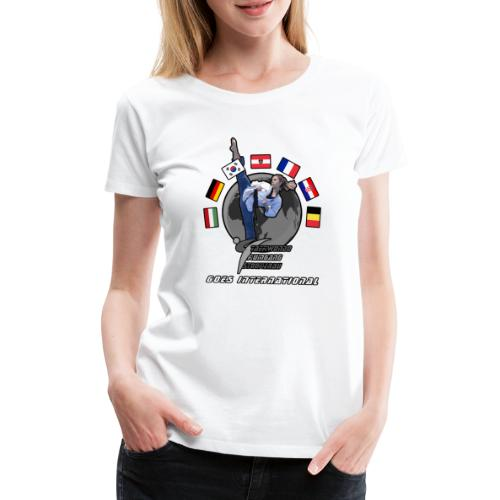 Kumgang International Kick - Frauen Premium T-Shirt
