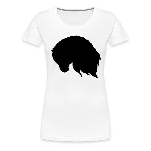 Draft horse - Premium-T-shirt dam