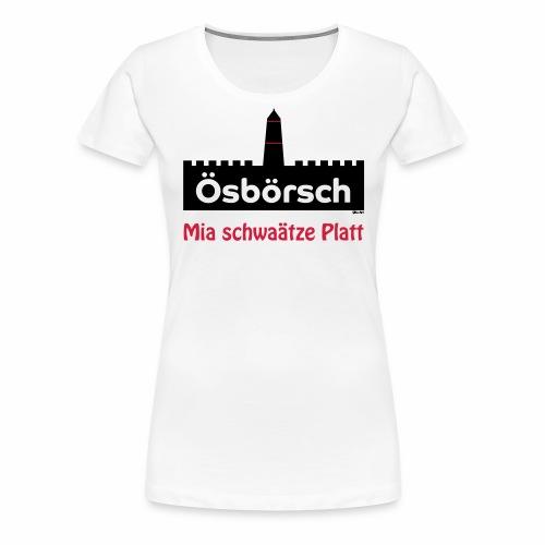Burg Osburg - Frauen Premium T-Shirt