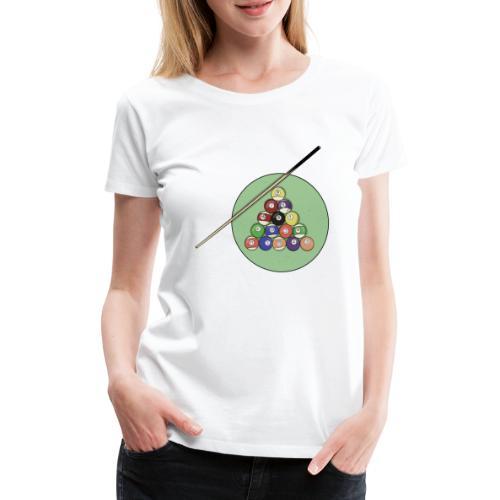 Billards party - T-shirt Premium Femme