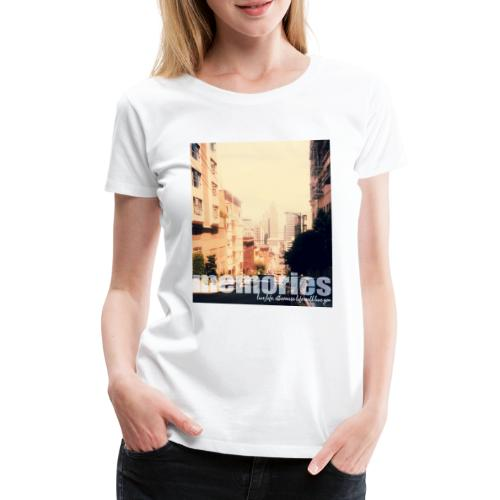 MEMORIES of SAN FRANCISCO - Frauen Premium T-Shirt