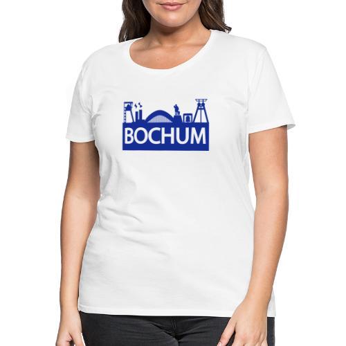 Bochumer Skyline - Frauen Premium T-Shirt