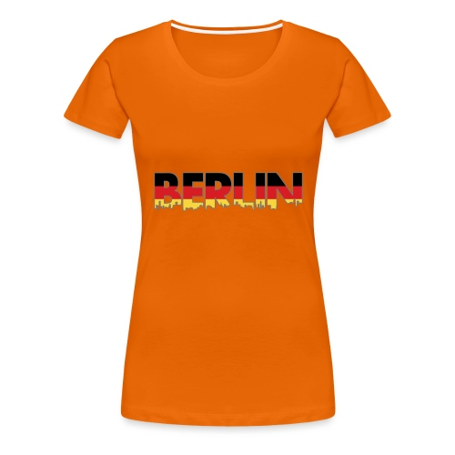 Berlin Typografie - Frauen Premium T-Shirt