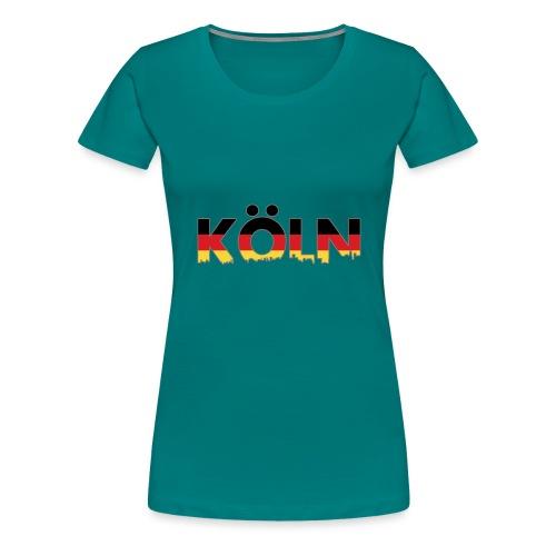 Köln Typografie - Frauen Premium T-Shirt